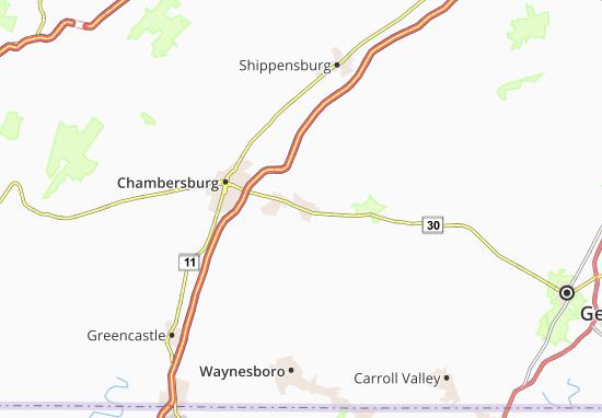 Fayetteville Map