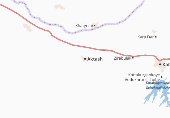 Carte-Plan Aktash