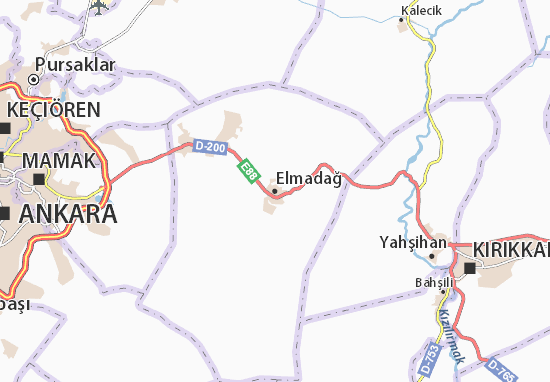 Carte-Plan Elmadağ