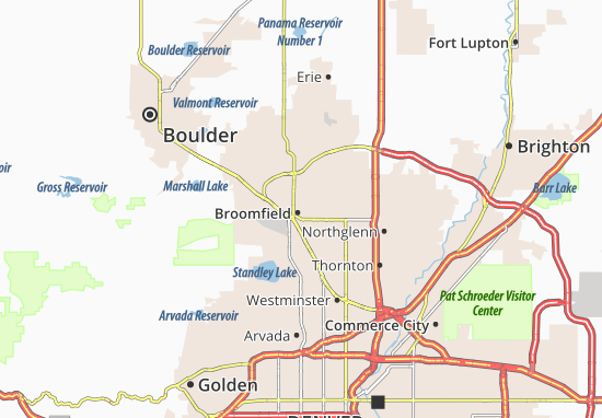 Broomfield Map