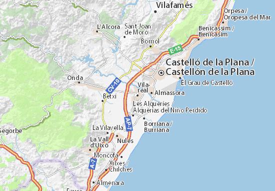 Mappe-Piantine Vila-real