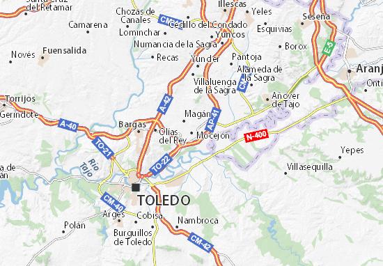 Mocejón Map