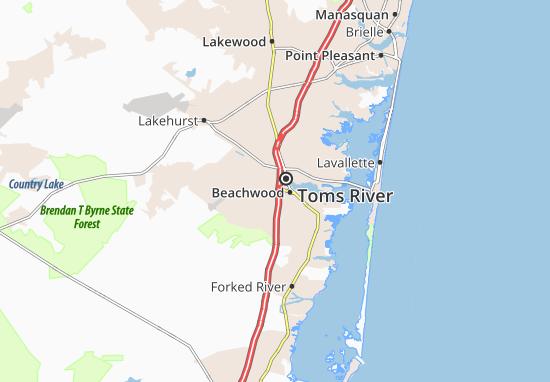 Mappe-Piantine South Toms River