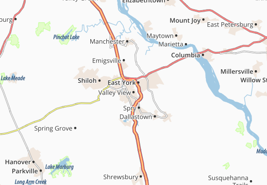 Valley View Map