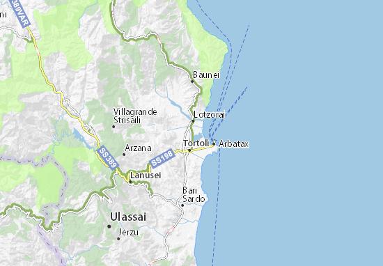 Cartina Michelin Sardegna.Mappa Michelin Girasole Pinatina Di Girasole Viamichelin