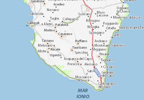 Mapas-Planos Taurisano