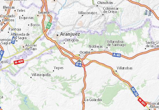 Ocaña Map