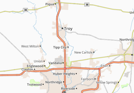Mappe-Piantine Tipp City