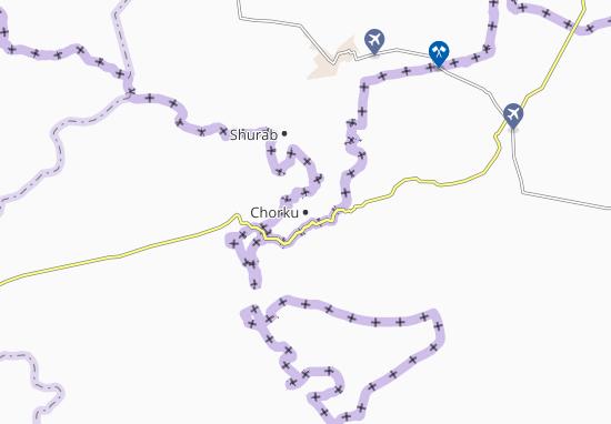 Mapa Plano Chorku
