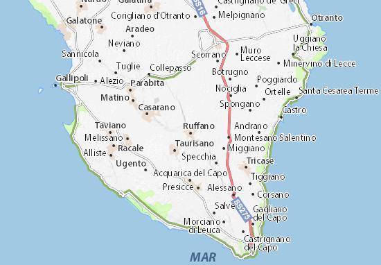 Ruffano Map
