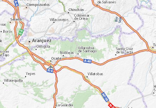 Mapas-Planos Villarrubia de Santiago