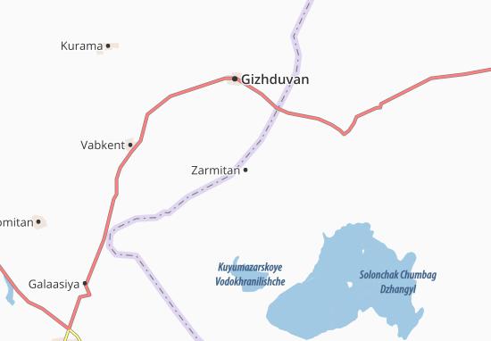 Kaart Plattegrond Zarmitan
