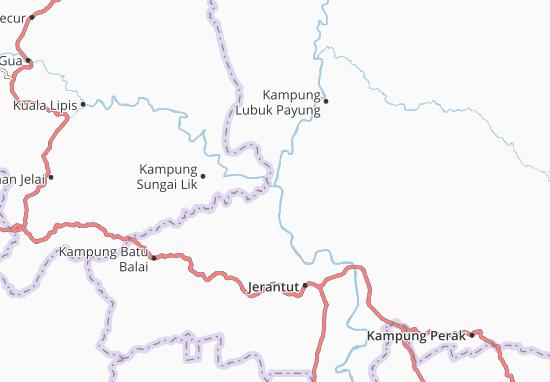 Kampung Kuala Tembeling Map