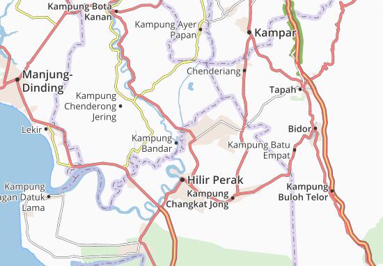 Kampung Labu Kubong Map