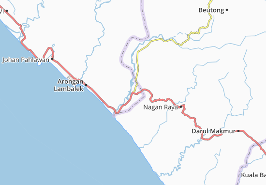 Samatiga Map