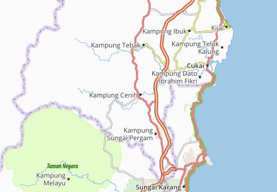 Mapas-Planos Kampung Cenih
