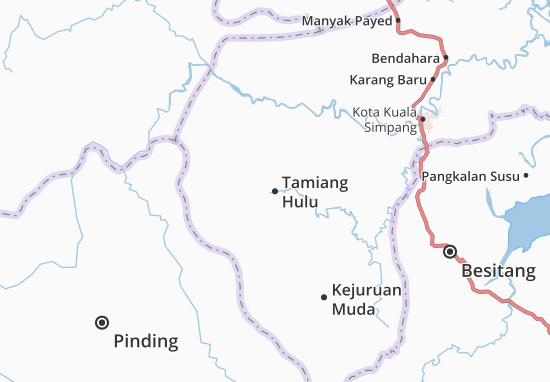 Mapas-Planos Tamiang Hulu