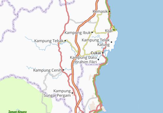Kampung Pasir Semut Map