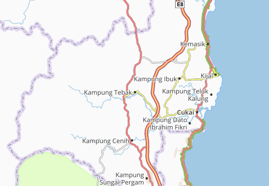 Mapas-Planos Kampung Tebak