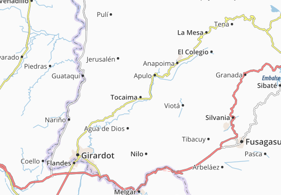 Tocaima Map