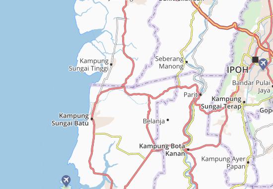 Beruas Map
