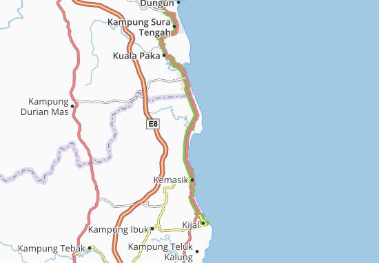 Mapas-Planos Kampung Tengah