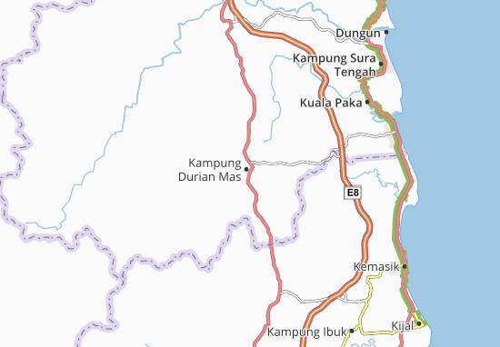 Kampung Durian Mas Map