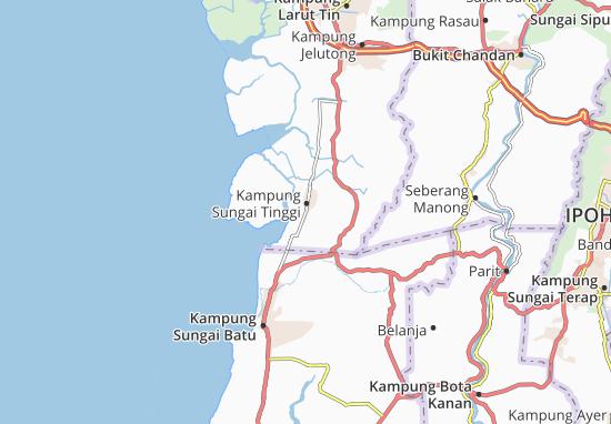 Mappe-Piantine Kampung Sungai Tinggi