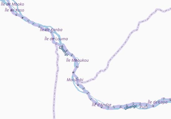 Carte-Plan Kandjia