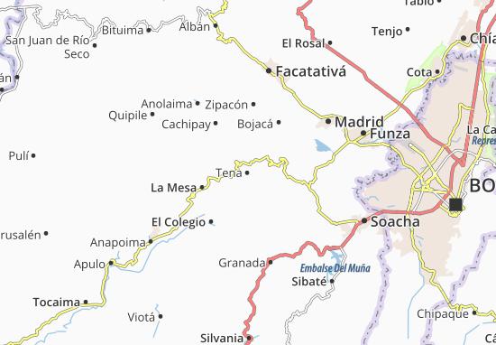 Tena Map