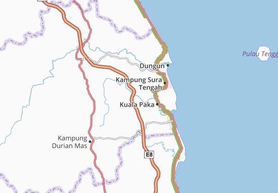 Kampung Pak Mali Map