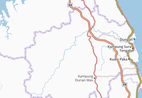 Kampung Kuala Jengai Map