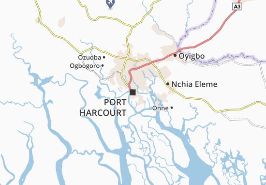 Mapa Plano Port Harcourt
