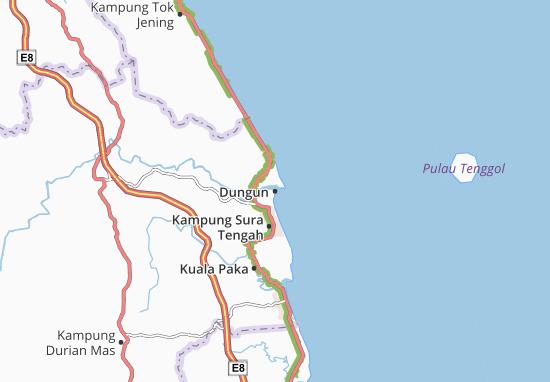Dungun Map