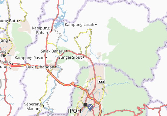 Mappe-Piantine Sungai Siput