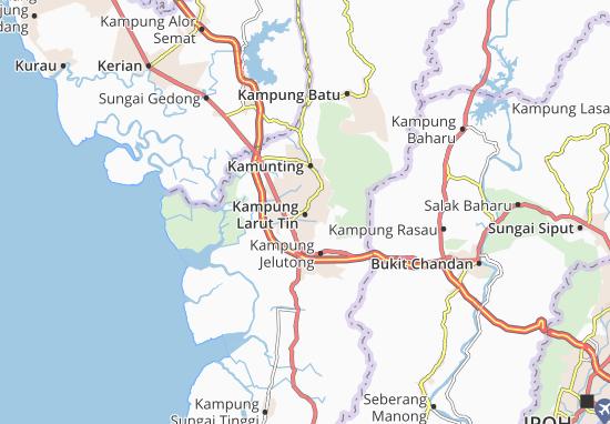 Mapas-Planos Kampung Larut Tin