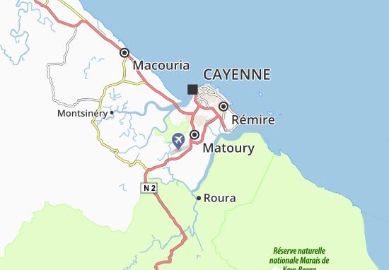 Matoury Map