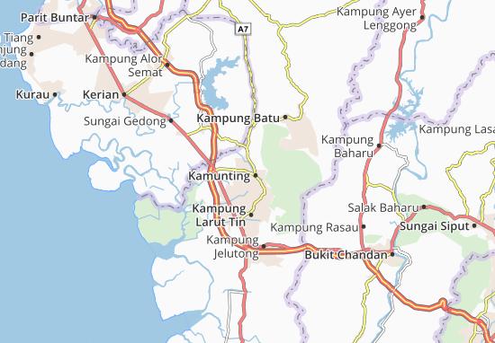Kaart Plattegrond Kamunting Jaya