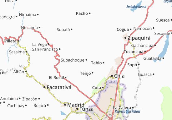 Mapas-Planos Subachoque
