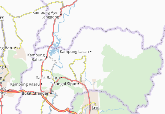 Mapas-Planos Kampung Lasah