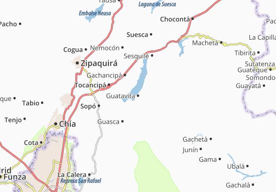 Mapas-Planos Guatavita