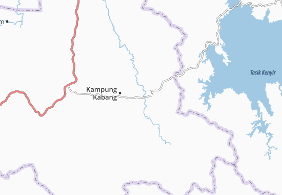 Kaart Plattegrond Kampung Kabang