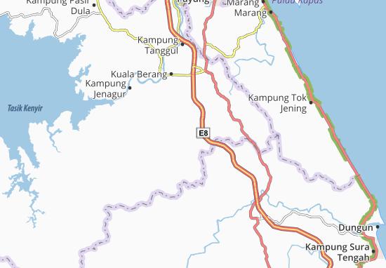 Kampung Matang Map