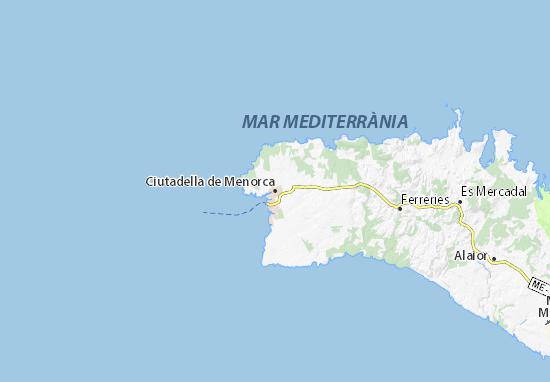 Mapas-Planos Ciutadella de Menorca