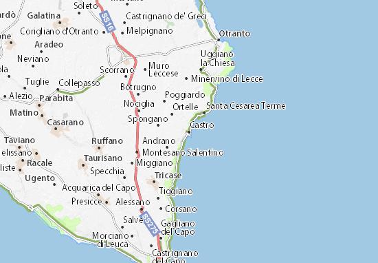Mappe-Piantine Castro
