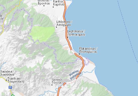 Mapa Plano Anatolikos Olympos