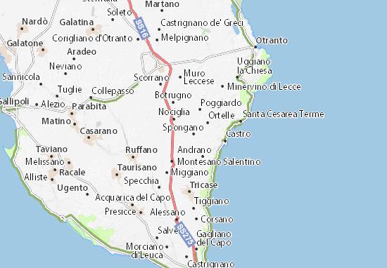 Mapas-Planos Spongano