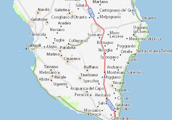 Supersano Map