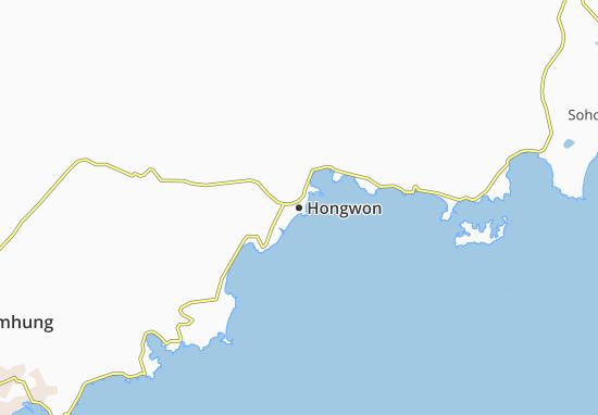 Mapas-Planos Hongwon