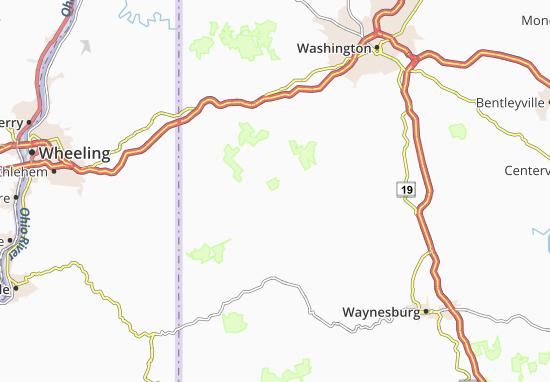 East Finley Map